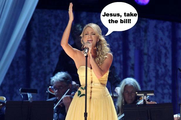 Sing it, girl.