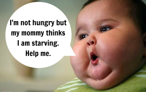 I doubt your baby is starving.