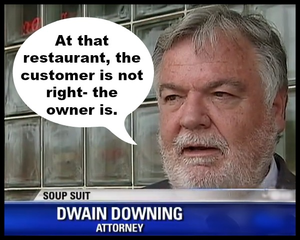 Dwain Downing states the fucking obvious.