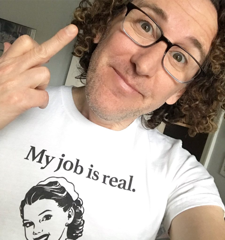 My job is real t-shirt