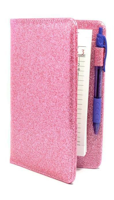 Pink Glitter Server Books
